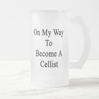 On My Way To Become A Cellist Coffee Mug