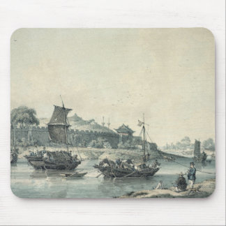 On one of the rivers of China Mouse Mat