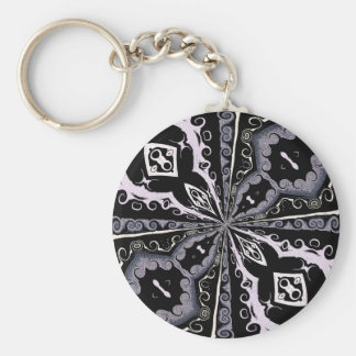 On Point_ Basic Round Button Key Ring