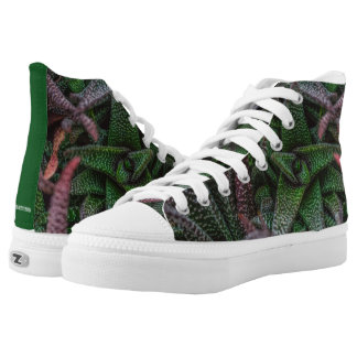 On Point Succulents Printed Shoes
