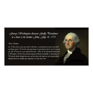 On Providence, George Washington - Script Poster