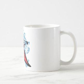 ON RIVER TIME COFFEE MUGS