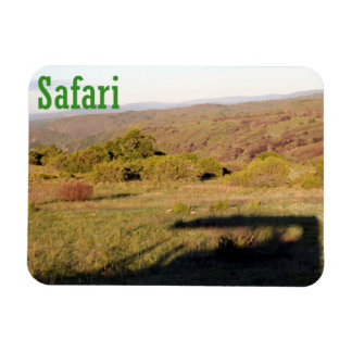On Safari in South Africa Vinyl Magnets