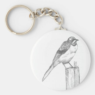 On Sale! Not Angry Bird Basic Round Button Key Ring