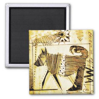 on shamans path square magnet
