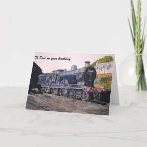 'On Shed' Caledonian railway's Steam Engine Card