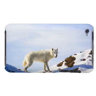 on snow covered terrain iPod touch Case-Mate case