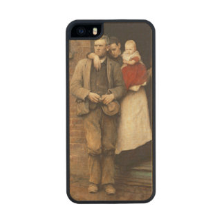 On Strike, c.1891 Carved® Maple iPhone 5 Case