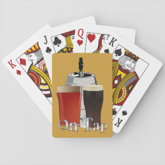 On Tap - Beer / Keg Playing Cards