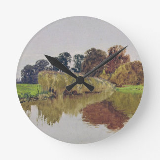On the Arun, Stoke, Sussex Round Clock