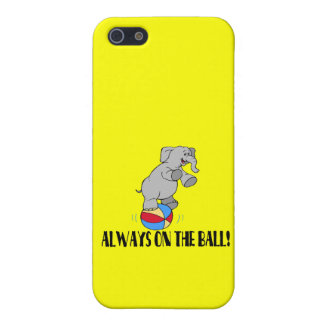 On The Ball Elephant iPhone 5 Case