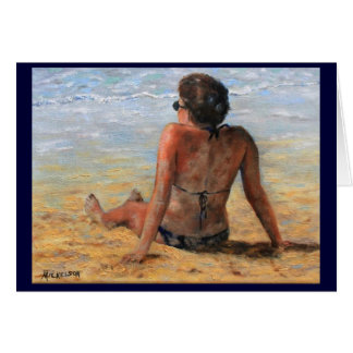 On the Beach All Occasion Greeting Card