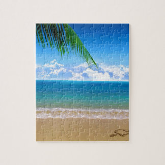 on the beach jigsaw puzzle