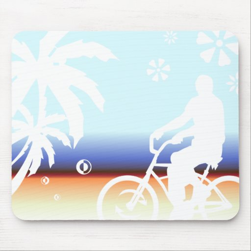On the Beach Mouse Mats
