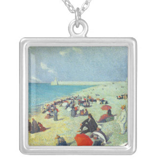 On The Beach Silver Plated Necklace