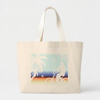 On the Beach Jumbo Tote Bag