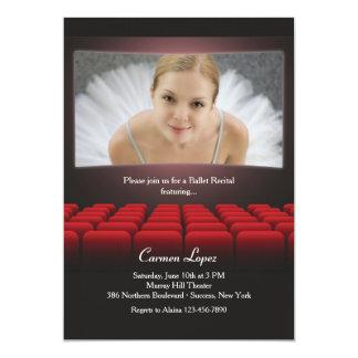 On the Big Screen Photo Invitation