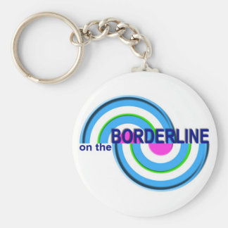 On The Borderline keychain