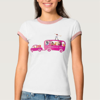 On the Bus ringer tee