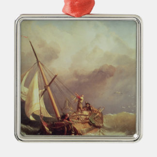 On the Dogger Bank, 1846 Christmas Ornament
