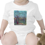 On The Edge By Rousseau Henri T Shirts