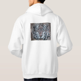 On the Edge Tiger on back hoodie