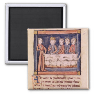 On the Eve of Pentecost...' Square Magnet