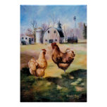 On the Farm Poster Print