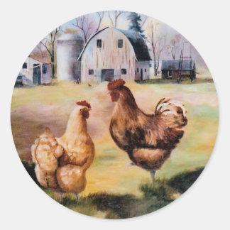 On the Farm Sticker