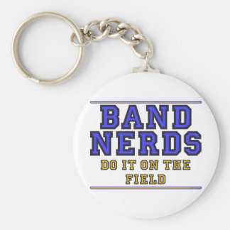 On The Field Basic Round Button Key Ring