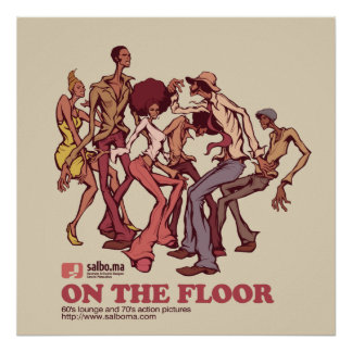 ON THE FLOOR POSTER