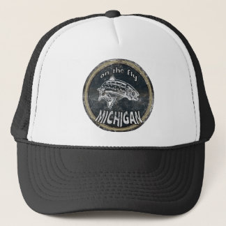 ON THE FLY MICHIGAN TRUCKER HAT