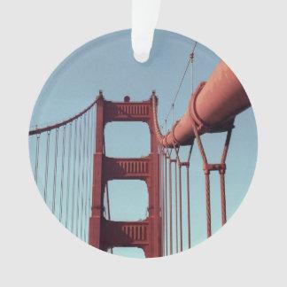 On The Golden Gate Bridge Ornament