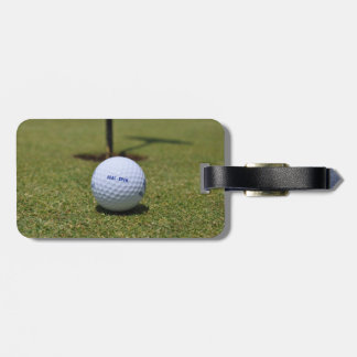 On the Golf Course Luggage Tag