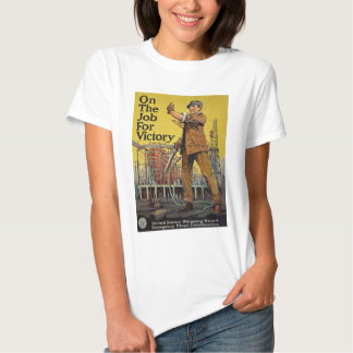 On The Job For Victory T Shirt