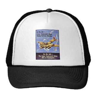 On The Job, The Same Teamwork Helps Win At Remingt Trucker Hat