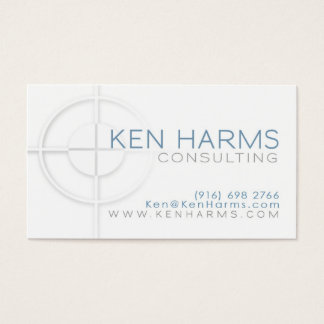 On The Mark Business Card