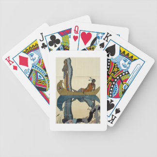 On the Missouri, 1922 (pochoir print) Bicycle Playing Cards
