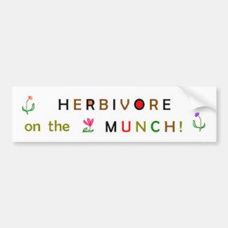 On the Munch! Bumper Sticker