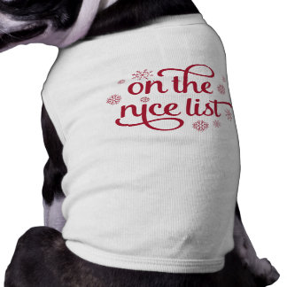 On the Nice List Shirt