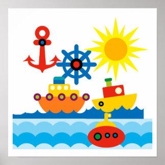 On the Ocean Print