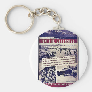 On The Offensive Keychain