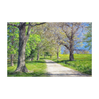 On the pathway to World's End Canvas Print