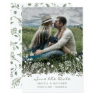 On the Prairie Save the Date Photo Card