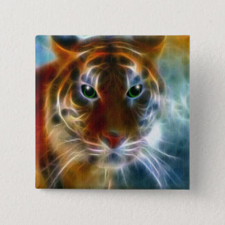 On The Prowl 15 Cm Square Badge