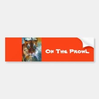 On The Prowl Bumper Sticker