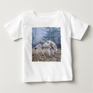 On the Prowl Timber Wolf Baby T-Shirt