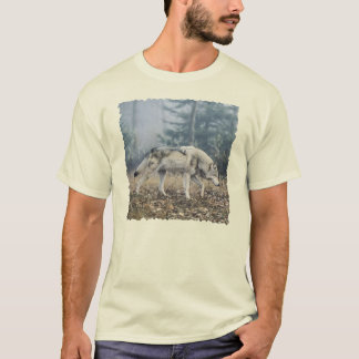 On the Prowl Timber Wolf T-Shirt