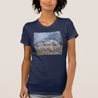 On the Prowl Timber Wolf T-shirts