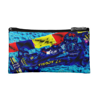 On the Racetrack Cosmetic Bag
